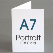 A7 Gift Cards (A6 folding to A7)